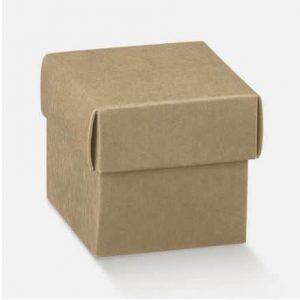 boite cube kraft