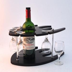 support à verre à vin