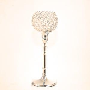 Vase photophore diamant