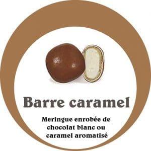 barre caramel