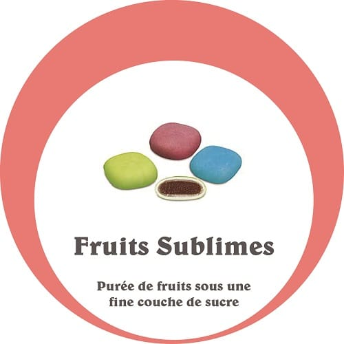dragées fruits sublimes