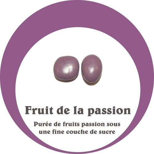 dragées fruit exotique passion