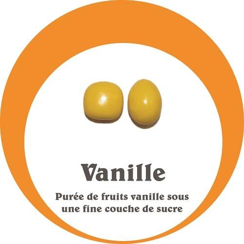 purée de fruit exotique vanille