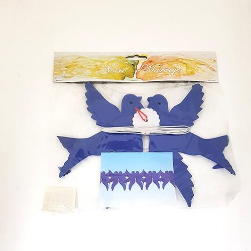guirlande colombes bleu