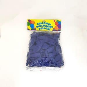 ballon double attache bleu