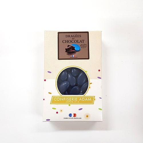 Chocolat bleu marine 54% cacao