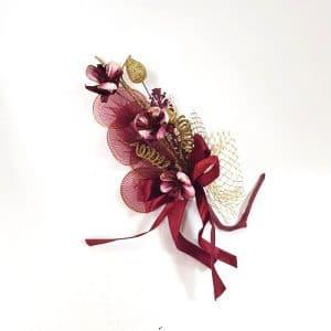 Fleur à dragées marsala