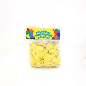 Ballon jaune clair