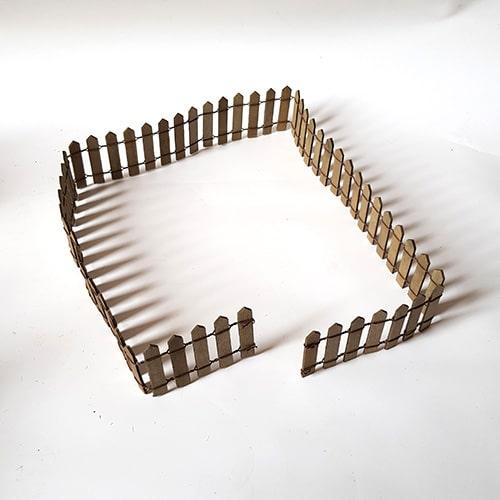 barrière bois flexible